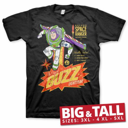 Officially Licensed The Original Buzz Lightyear Big/&Tall 3XL,4XL,5XL Men T-Shirt