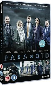 Details about PARANOID 1 (2016): ITV / Netflix, Crime Drama TV Season  Series - R2 DVD not US