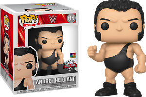 WWE 6 in Super Taille-Andre The Giant-Officiel-Special Edit environ 15.24 cm FUNKO POP