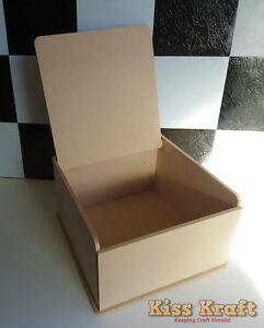 Keepsake-or-Memory-Box-DIY-Craft-26cm-x-26cm-x-15cm-Raw-MDF