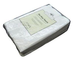 NEW-Nouvelle-Legende-Cotton-Bar-Mop-Ribbed-Towels-Commercial-Grade-25-Pack-O-B