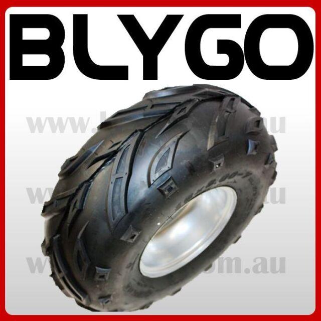 "16X8- 7"" inch 4 Stud Wheel Rim + Tyre Tire 150cc 125cc Quad Dirt Bike ATV Buggy"