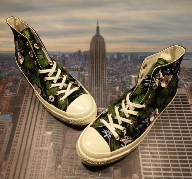 06ed90aba738e2 Frequently bought together. Converse Chuck Taylor All Star 70 Hi High Black Cherry  Blossom ...