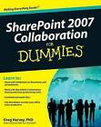 SharePoint 2007 Collaboration For Dummies by Greg Harvey (Paperback, 2009)
