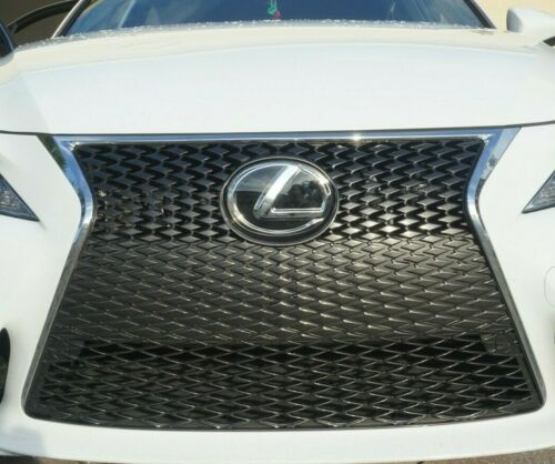 LEXUS NEW BLACK FRONT EMBLEM IS250 GS350 RX350 Grille Grill Logo Badge F sport