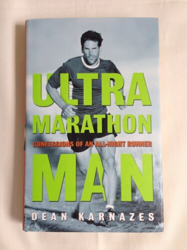 1 of 1 - Ultramarathon Man, Dean Karnazes Book