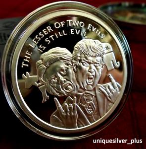 999 Coin Wizards of US series w//COA 2016 Silver Shield VOTE Prison PROOF 1oz.