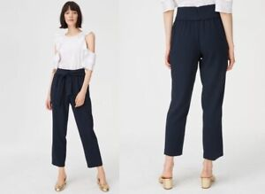 Club-Monaco-Dacey-trousers-navy-color-size-0-179-50-price-tag-high-fashion-NWT