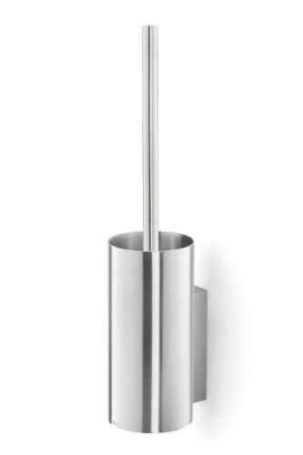 Brushed Stainless Steel Zack Linea Wall-Mounted Toilet Brush 40381