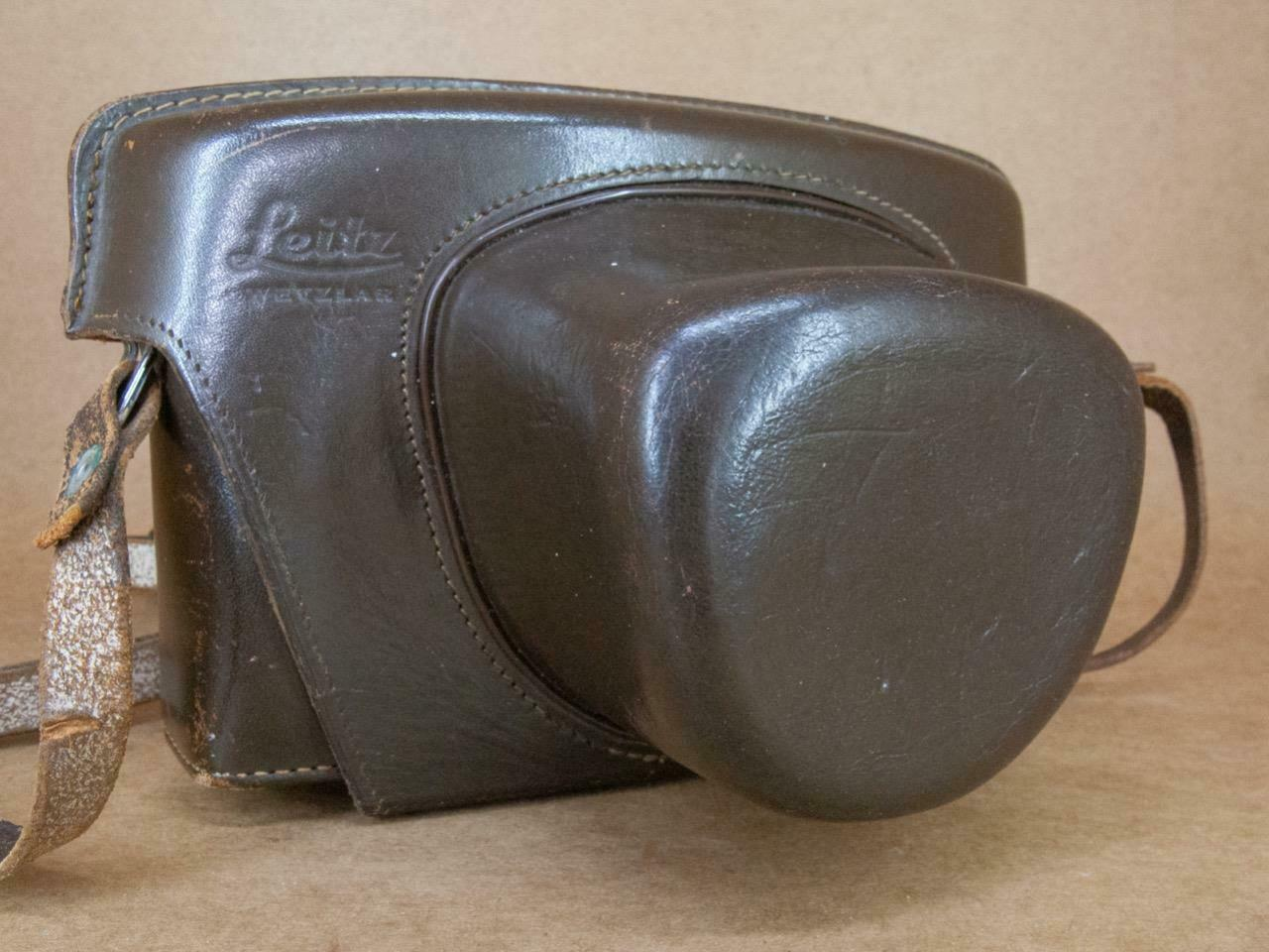 Leitz Leica Leicaflex / SL Brown Leather Ever-Ready Case