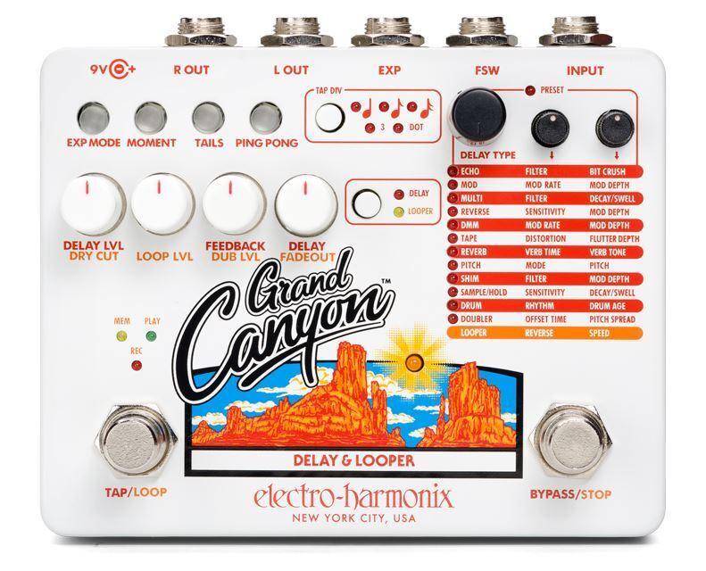 punti vendita Electro-Harmonix Grand Canyon Delay & & & Looper Pedale  forniamo il meglio