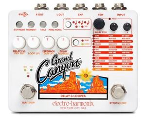 Electro-Harmonix-Grand-Canyon-Delay-amp-Looper-pedal