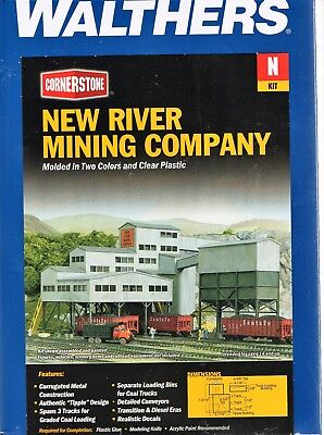 3221 Walthers Cornerstone New River Mining Company Kit  N scale