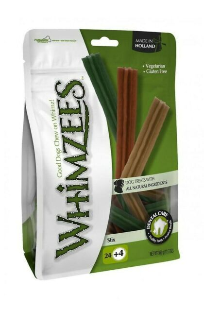 Whimzees Stix Small Bulk Box of 150 Pieces Dog Puppy Dental Chews Treats