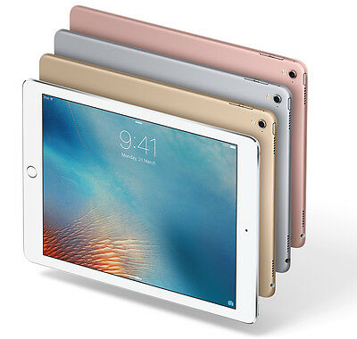 "Apple iPad Pro 32GB WIFI 9.7"" 12MP Touch ID iOS Tablet - A1673"