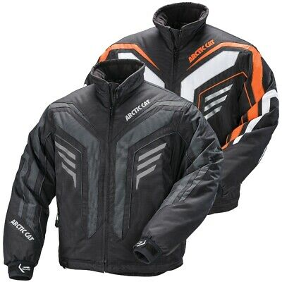 Green Black Orange Arctic Cat Men/'s Bullet Advantage Winter Snowmobile Jacket