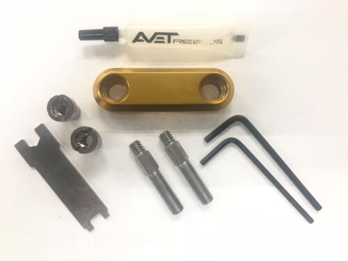 Avet Reel Clamp Kit for JX LX HX HXW **CHOOSE COLOR**