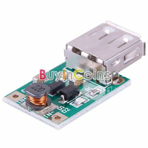 DC-DC Converter Step-Up Boost Module 1V to 5V 500mA USB Charger For Phone SHDB