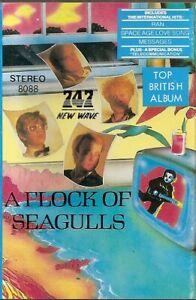 A-Flock-Of-Seagulls-Ist-Album-A-Flock-Of-Seagulls-Import-Cassette-Tape