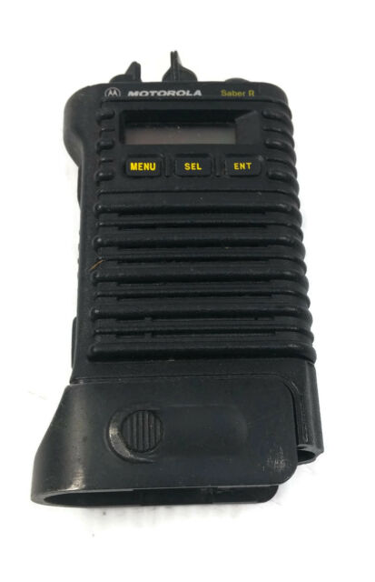Motorola Saber VHF Model II High Band 144 2m Ham Murs Radio Securenet  Encryption