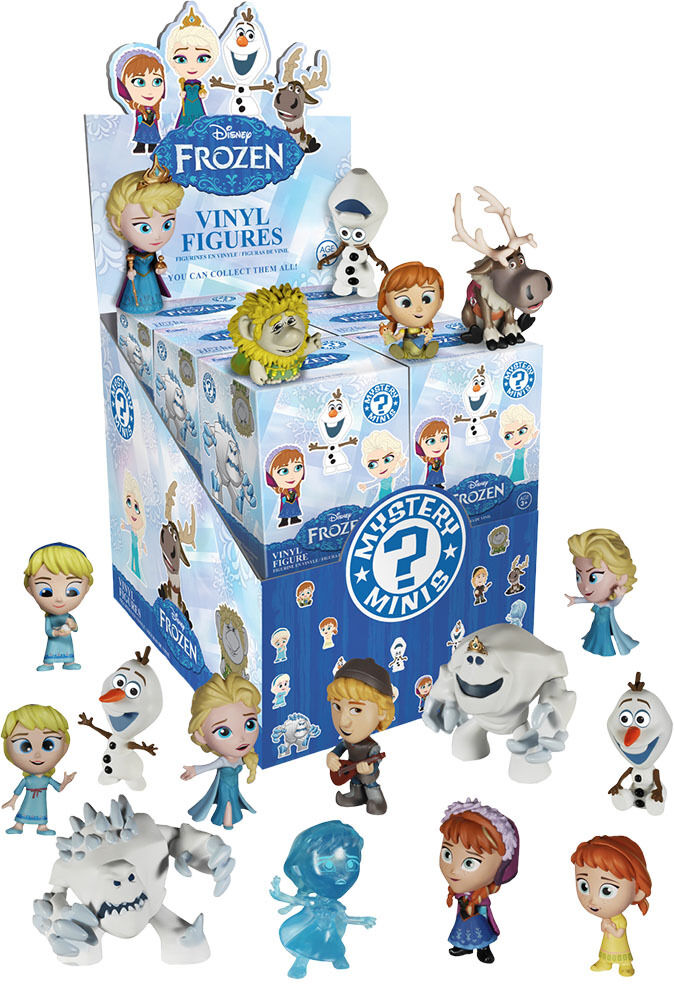 FROZEN - Mystery Mini Blind Box 2.5  Vinyl Figures Display (12) by Funko  NEW