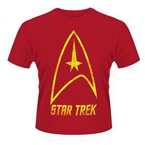 Star Trek Badge Logo Retro Officially New Licensed Various Sizes T-Shirt