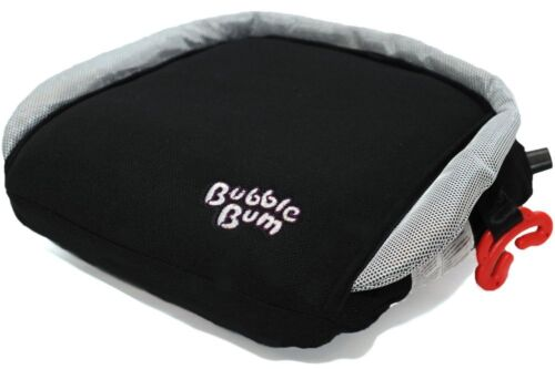 4-12 Years 15-36kg Black BubbleBum Inflatable Booster Seat Group 2-3