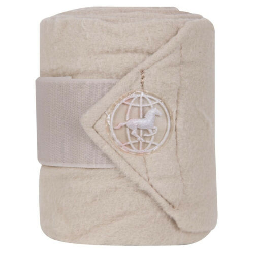 Imperial Riding Global fleecebandagen Fleece-Bandages Br. velcro 4 tageusement