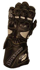 Arlen-Ness-Motorradhandschuhe-Sport-Handschuhe-Speed-King-schwarz-Gr-S