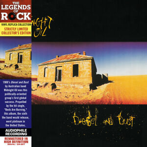 Midnight Oil CD Diesel And Dust - Limited Edition 3000 copies, Remastered - USA