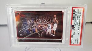 2019-20 One and One Basketball Red Timeless Moments Auto Dirk Nowitzki 7/25 PSA9