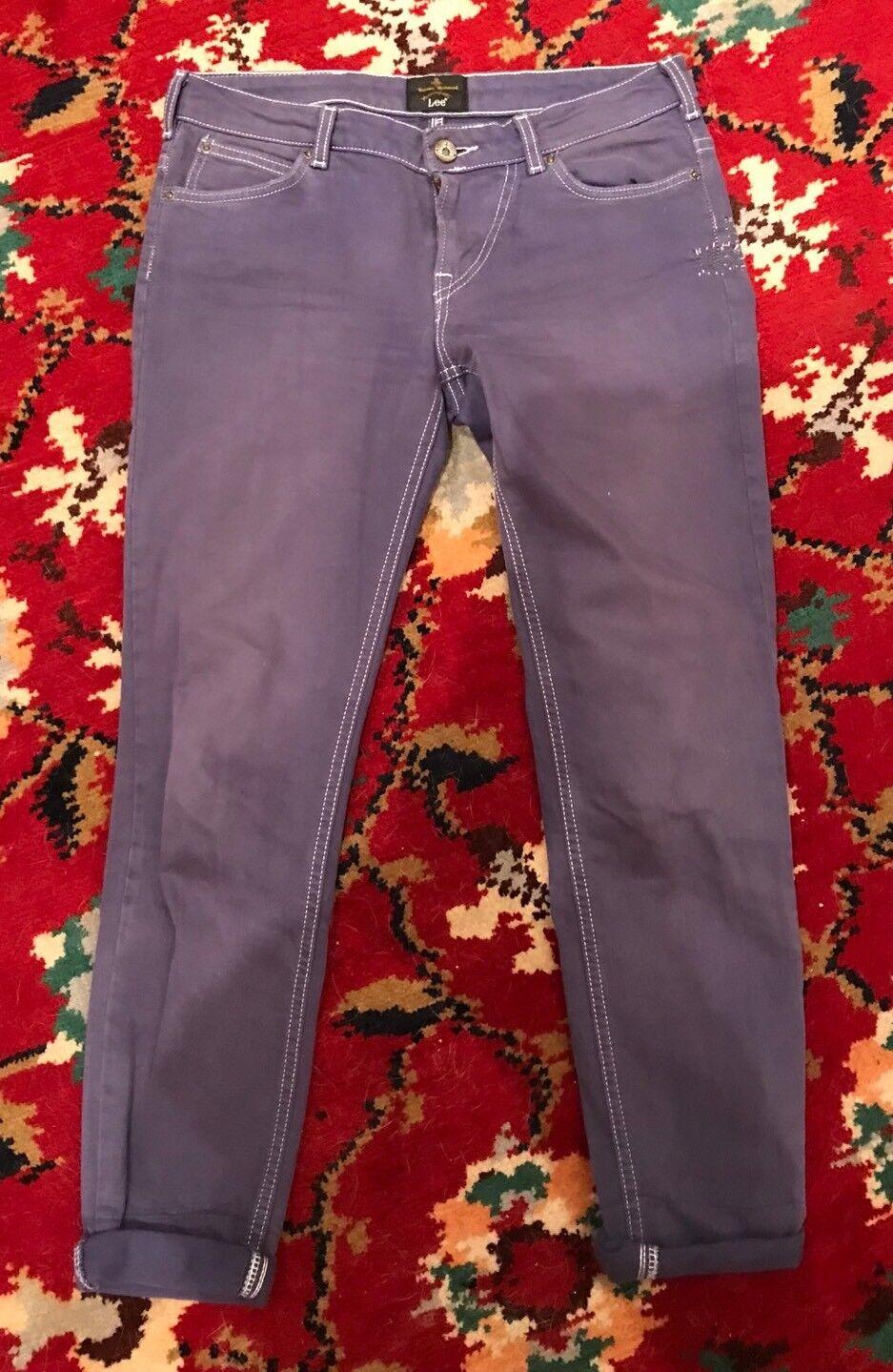 Vivienne Westwood Purple Skinny Jeans Size 28