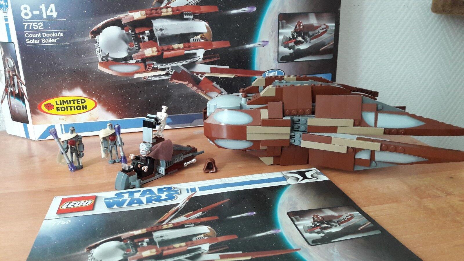 LEGO Star Wars 7752 Count Dooku's Solar Sailer mit BA und OVP