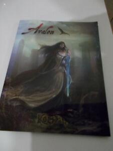 Avalon-keltia Rpg Supplement Dark Age Roi Arthur-afficher Le Titre D'origine Blanc Pur Et Translucide