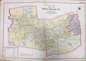 1905 West Roxbury Boston Ma Gw Bromley Index Page