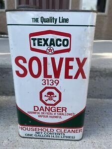 Vintage Texaco Oil Can 1 Gallon Texaco Can