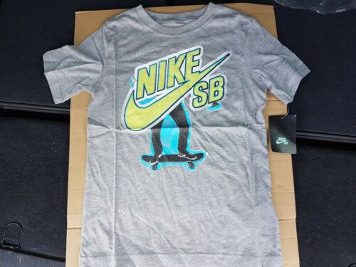 SIZES CHILDREN/'S S  M  L  XL KIDS NIKE GREY T SHIRTS AT KIDS BRANDED CLOTHING