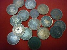 1/2 pice ~ british king george VI ~ 3 coin lot ~ 1939 ~ 2.43 grams ~ low price