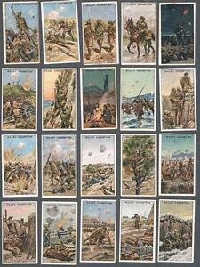 1915-Wills-s-Cigarettes-War-Incidents-2nd-Series-Tobacco-Cards-Complete-Set