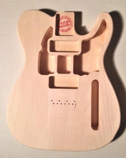 Telecaster Style Schm ler Körper 2 P90 Pickups Legit Gitarre Kits Linden Holz