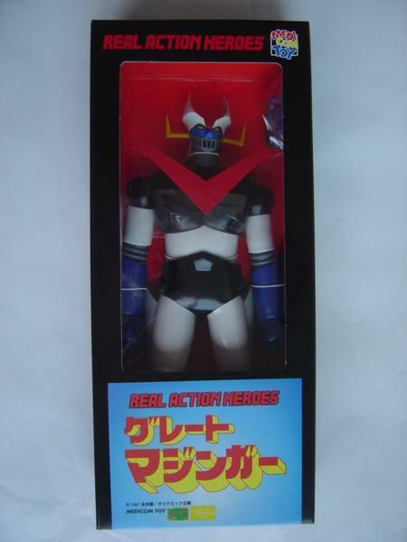 Medicom Toy Real Action Heroes Great Mazinger action Figure from Japan F S