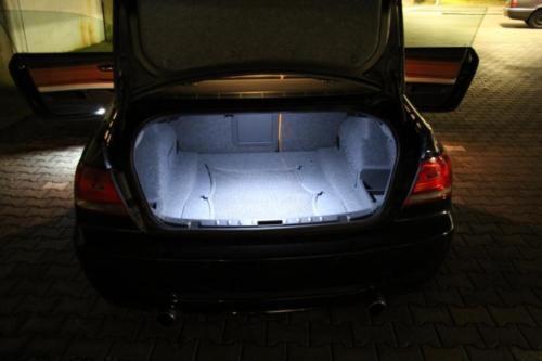 1x LED módulo 18 SMD alfombrilla de iluminación VW Passat a32 b7 sedán blanco 7406