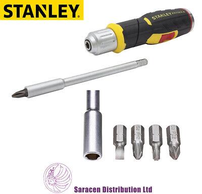 Stanley 0-62-691 FatMax Tournevis automatique poignée de pistolet 12pc Bit Set STA062691