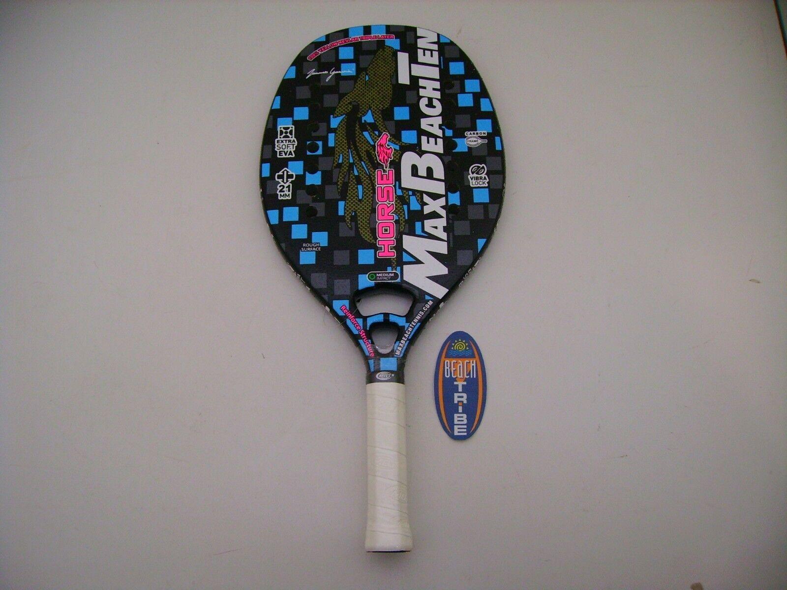 Racchetta Beach Tennis Racket Mbt Horse 2019 Con Custodia