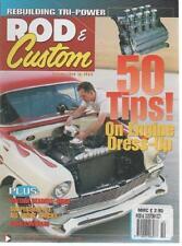 ROD & CUSTOM MAGAZINE October 2004 '56 Chevy 210 Sedan AL