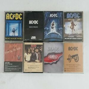 AC/DC Cassette Tapes  **Assorted Titles To Choose From**