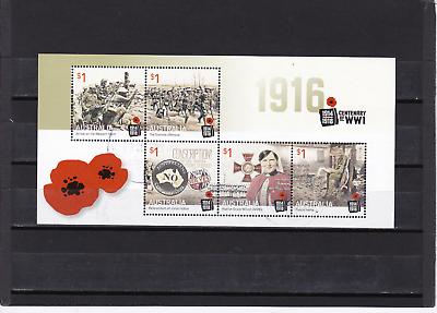 1916 Centenary Of Ww1 / Nr. 18 Gestempelt Gutes Renommee Auf Der Ganzen Welt
