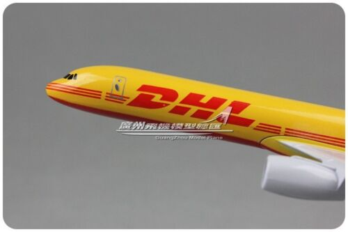 16CM DHL Express BOEING 757 Commerce Airplane Metal Aircraft Diecast Plane Model