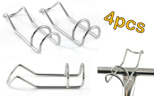 4pc STAINLESS STEEL 6MM MARINE DIY FISHING DOUBLE WIRE ROD HOLDER SNAPPER RACK
