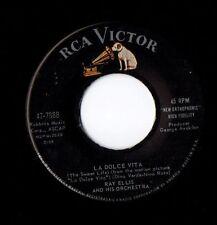 RAY ELLIS - RCA Victor - La Dolce Vita / Parlami Di Me (NM b/w vg++)